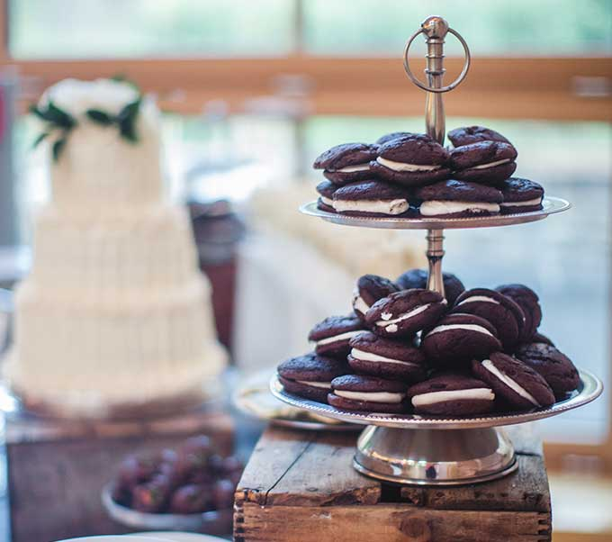 Wedding Whoopie Pies