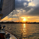 Sailing on Casco Bay